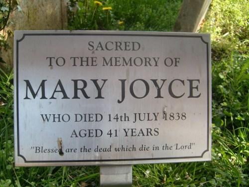 MaryJoyceGrave
