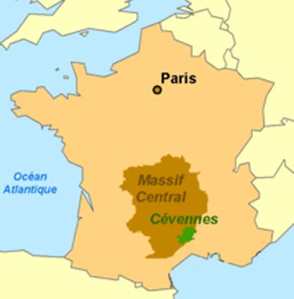 Carte-cevennes-france