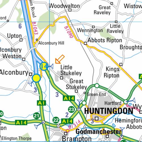 alconbury map