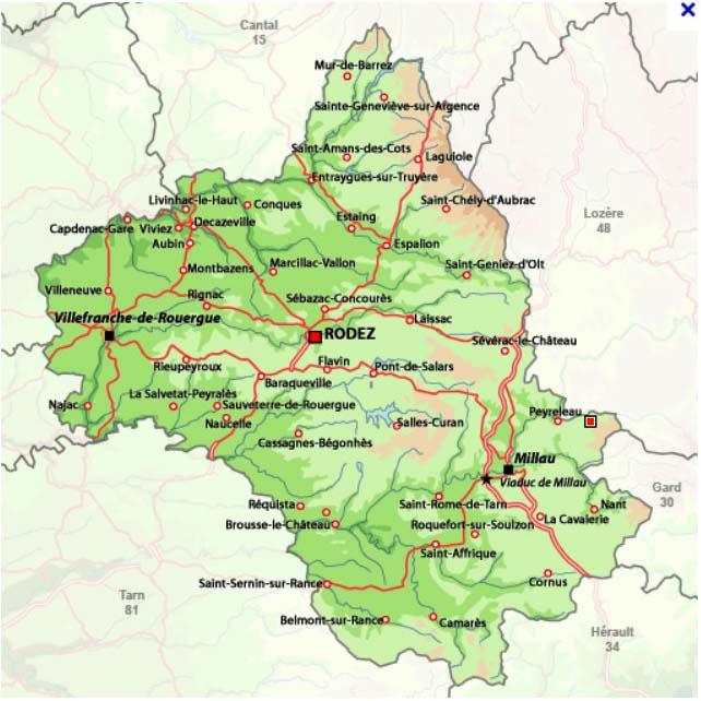 gevaudan game map