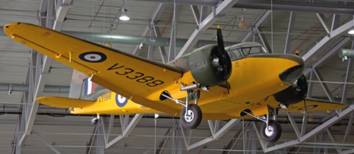 Airspeed_Oxford_V3388_yellow