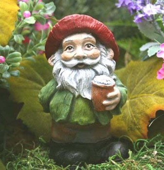 beer garden gnome