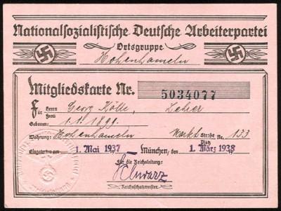 NSDAP_Member_Card_1