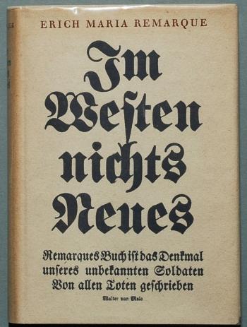 Remarque_Im_Westen_ book cover