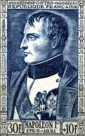 stamp-napoleon-france