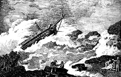 wreck of the npottingham gaslley
